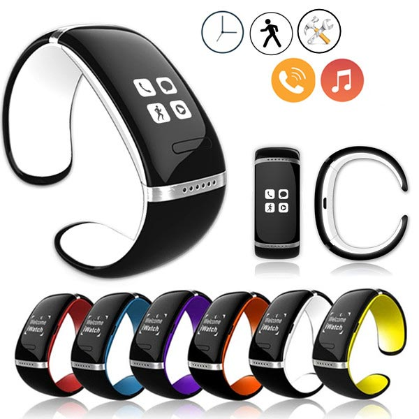 Extra $9 OFF For Bluetooth Wrist Smart Bracelet Watch Phone For iPhone IOS Android by HongKong BangGood network Ltd.