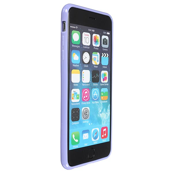 Ultra Thin TPU Bumper PC Matte Clear Case Cover For iPhone6 Plus