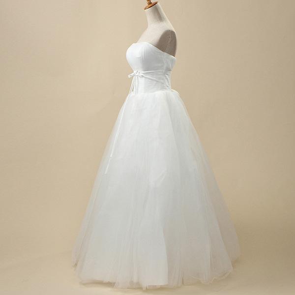 Bride Strapless Tube Slim High Waist Bowknot Band Wedding Dress At Banggood Sold Out