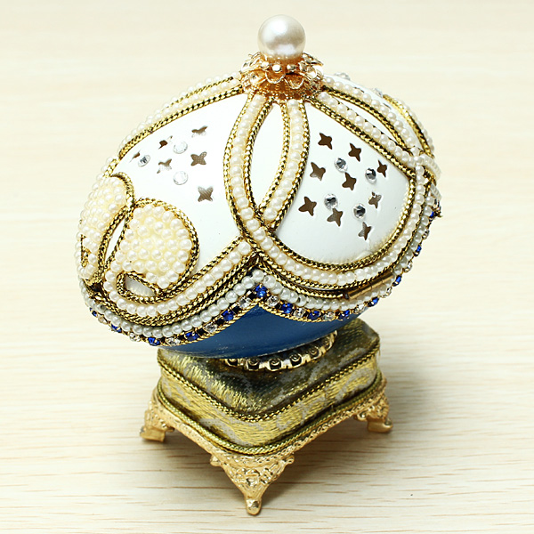 Toys - Royal Carriage Egg Carving Music Box DIY Gift Wedding Gift ...