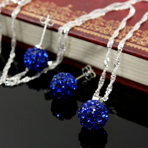 Crystal Bead Jewelry Set