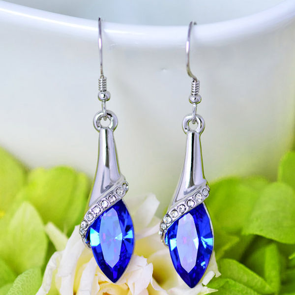 Water Drop Crystal Earrings