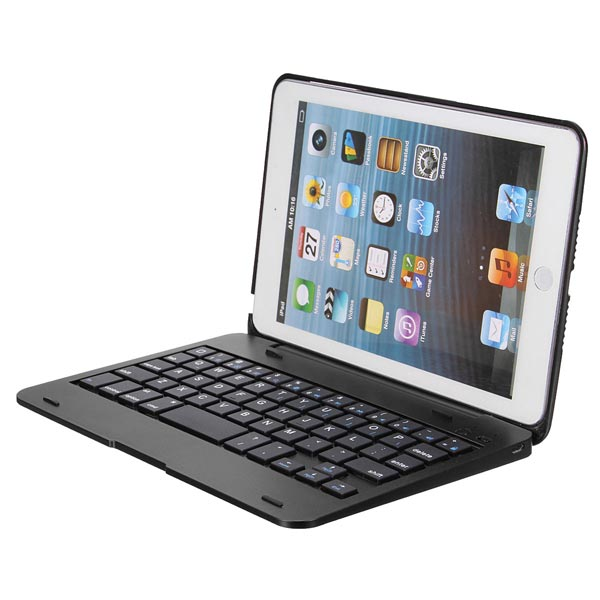 2in1 Bluetooth Keyboard Foldable Case Stand For iPad Mini 320a waterproof rc boat esc eletric speed controller for rc crawler car boat regulator spare parts 7 2 16v with fan two motors