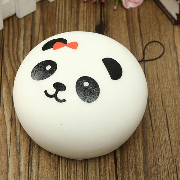 Squishy Bun Factory : Kawaii Jumbo Panda Squishy Bun Cell Phone Bag Strap Pendant Sale - Banggood.com