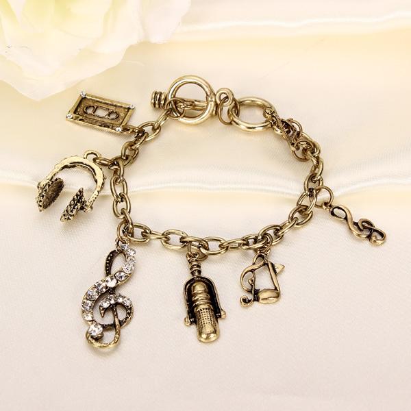 Bronze Music Bracelet