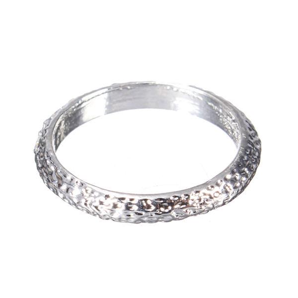 Matt Alloy Finger Ring