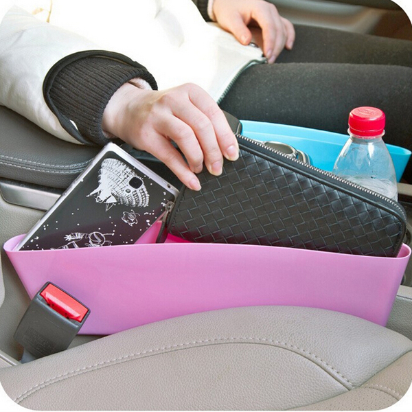 Car Seat Crevice Storage Box Storage Box Cabby Box Gap Pocket Storage Organizer
