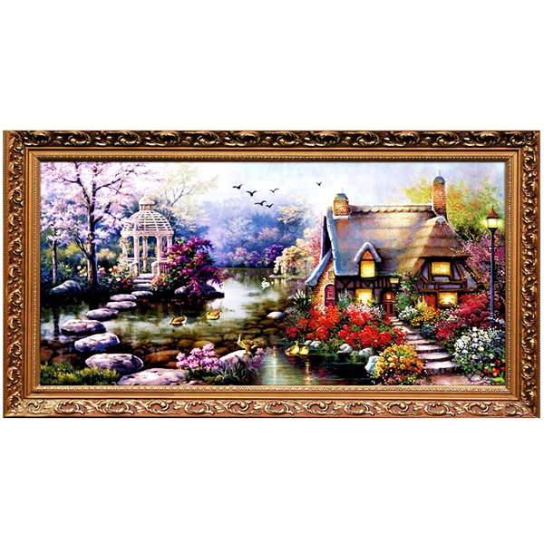 garden cottage cross stitch