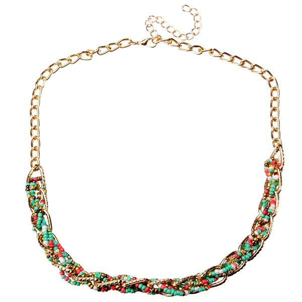 Bohemia Colorful Small Beads Necklace