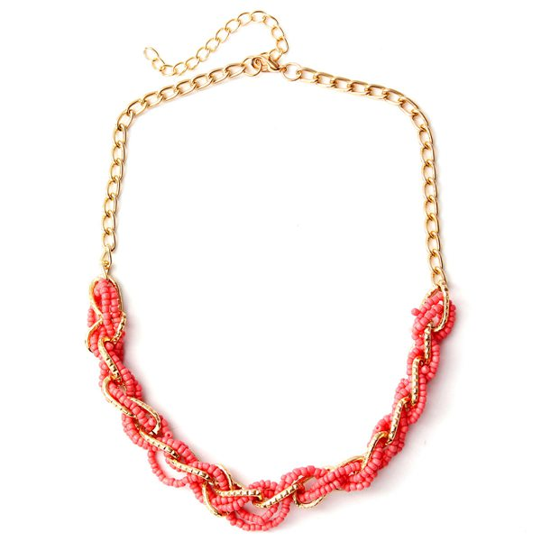 Hand Woven Beads Necklace