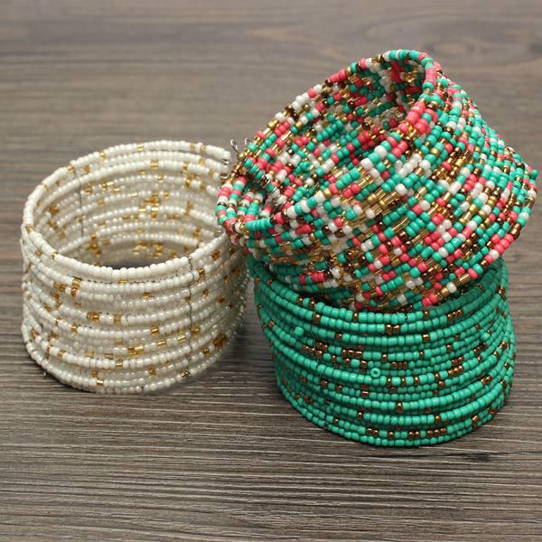 Bohemia Multilayer Beads Bracelet