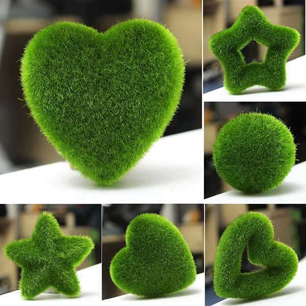 diy moss ornament