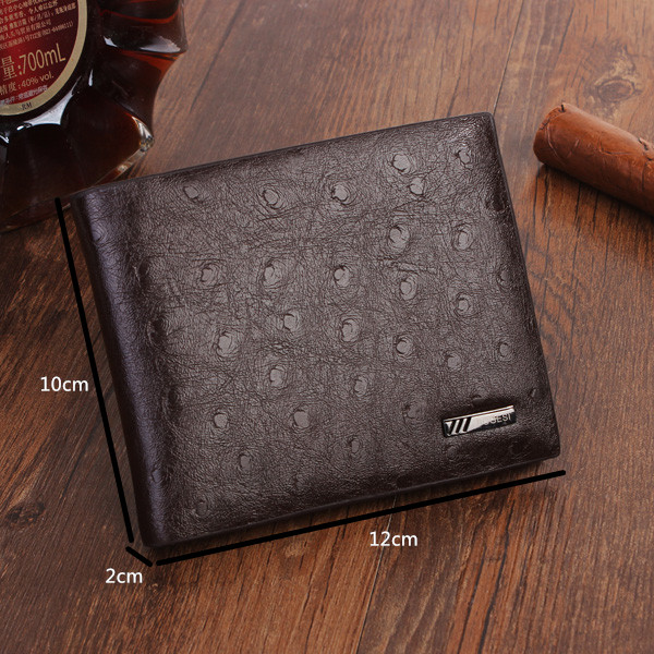 Mens Wallet Male Money Purses Soft ID Card Case Designer Wallet