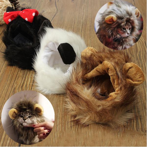 Pet Lion Mane Wig