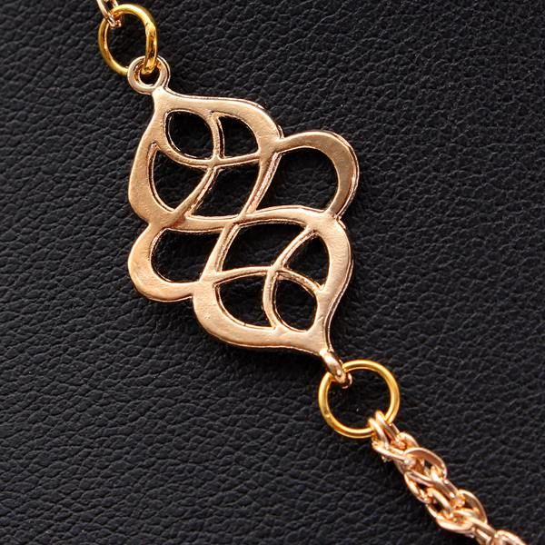 Hollow Flower Double Chain
