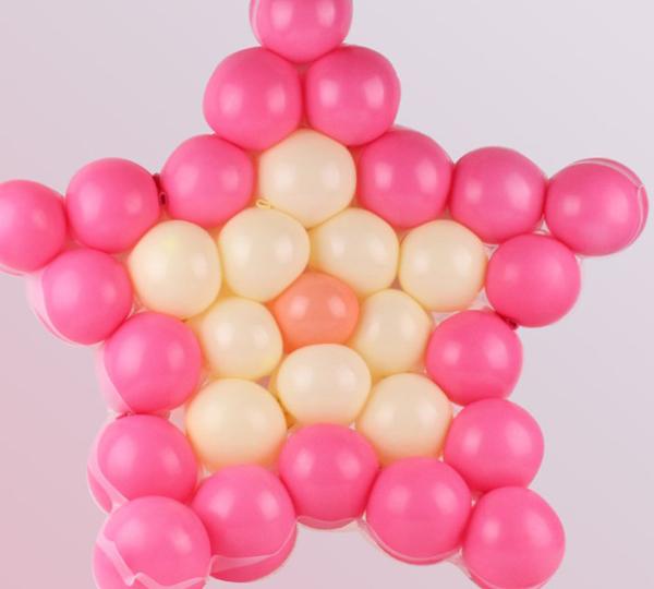 Birthday Wedding Party Decoration DIY Heart Star Grid Balloon