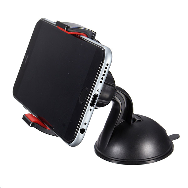 Universal Mini Suction Cup Car Windshield Mount Holder For Phone