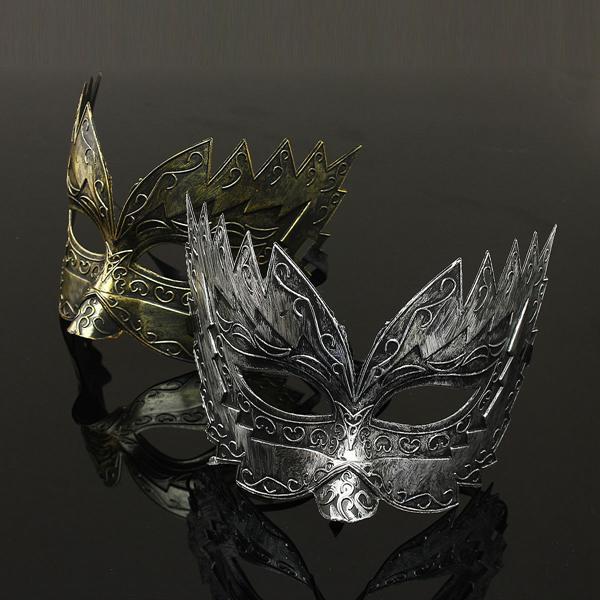 Jaggedly Engraved Venetian Masquerade Mask