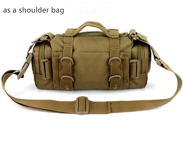 Multifunction Shoulder Bag Tactical Outdoor Camouflage Crossbody Bag