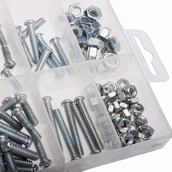 Imperial Zinc Plated Nuts and Stove Bolts