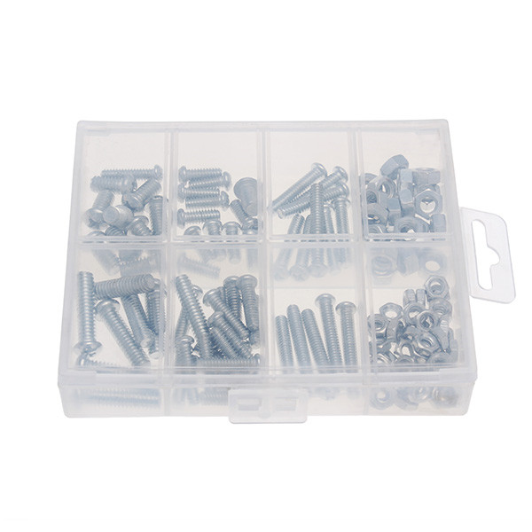 Imperial Zinc Plated Nuts and Stove Bolts Kit