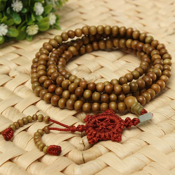 Sandalwood Buddhist Necklace Bracelet