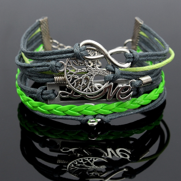 Multilayer Charm Bracele
