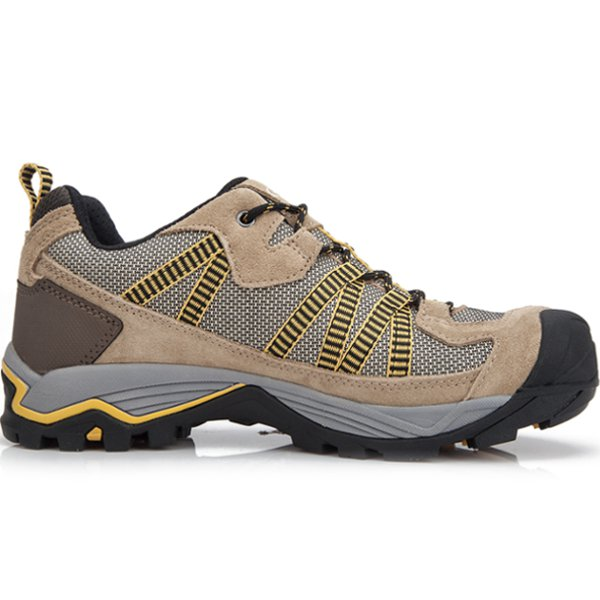 Clorts Men Waterproof Walking Hiking PU Sport Outdoor Shoes