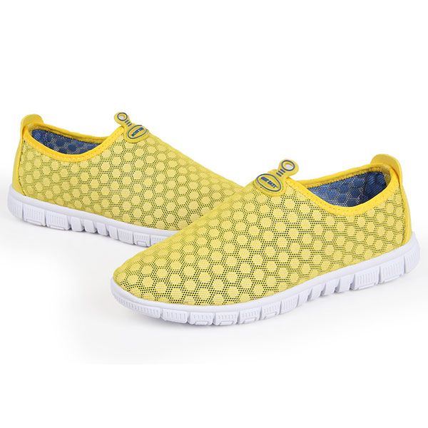 Candy Color Breathable Mesh Ventilate Casual Hollow Out Women Shoes(Without Box)