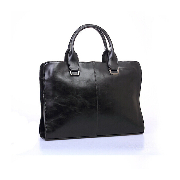 Leather Men Bags Men's Briefcase Laptop Business Leisure Shoulder Bag
