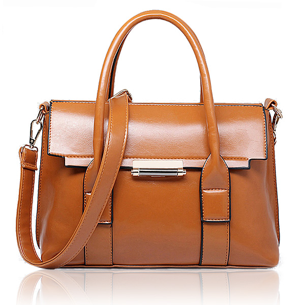 Women Handbags Vintage PU Leather Bags Crossbody Bags Shoulder Bags