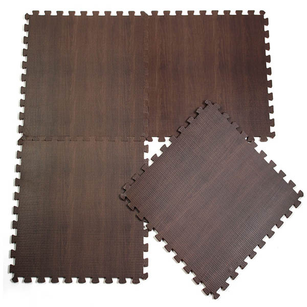 10pcs Baby EVA Mat Wood Grain Ground Carpet Split Joint Puzzle - EachinePlaymats &amp; Tents<br>Description : 10pcs Baby EVA Mat Coffee Grain Ground Carpet Split Joint Puzzle 10 pcs a set only $19.88, each one low to $1.98 Eco-friendly EVA foam, anti-skip design, protect baby from being hurt. Delicate edge, can easy to make up together. Soft and thick, can effectively reduce noise, besides, it can keep warm, protect baby from hurt when crawling and playing. And also can be a nice decoration in room :) Specification : Material : EVA Foam Size : 30 x 30 x 1 cm Color : Coffee And you can find the color wood by click here. Type : Split Joint Package Includes : 10 x Coffee Wood Grain Ground Mat Details Pictures :<br>
