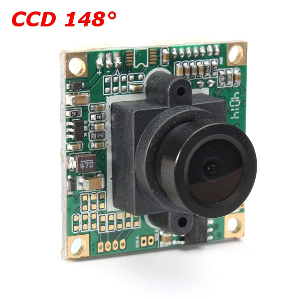 Eachine CCD 700TVL 148 Degree Lens FPV Camera 1 3 hd 700tvl sony ccd color cctv board camera pcb mainboard osd chips 2 8mm 3mp 1080p lens