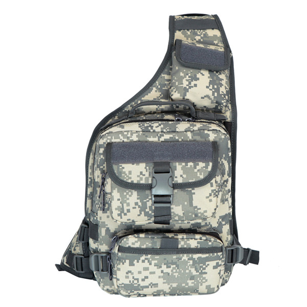 Outdoor Men Tactical Messenger Bag Camouflage Chest Pack