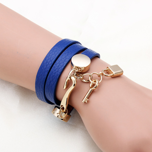 Multilayer Genuine Leather Bracelet