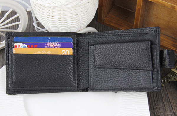 Men Leather  Pockets Wallet Money Purse ID Credit Card Clutch