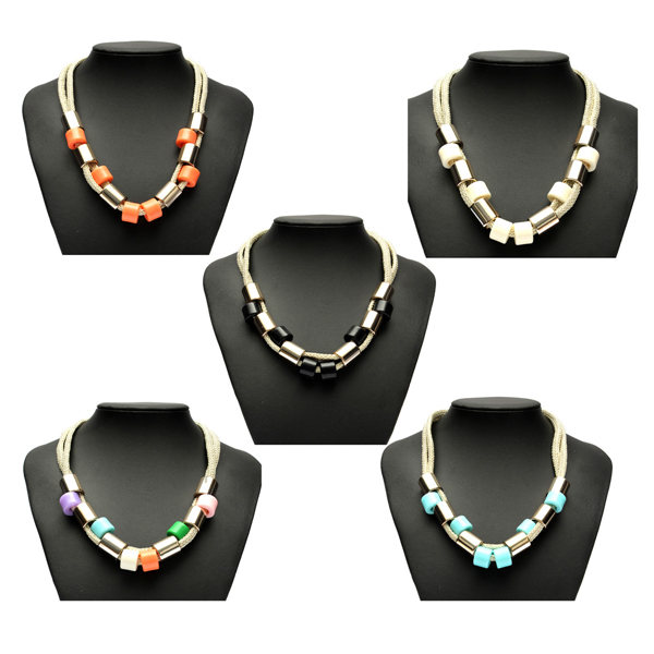 Weave Statement Necklace