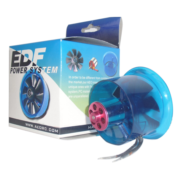 Buy AEO 50mm 8-Blade Ducted Fan EDF Combo w/5800KV Brushless Motor