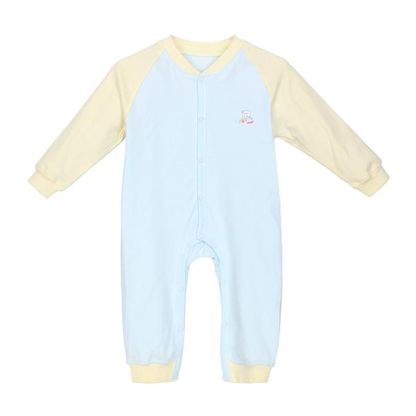 Ребенка новорожденного с длинным рукавом из хлопка восхождение одежда комбинезон