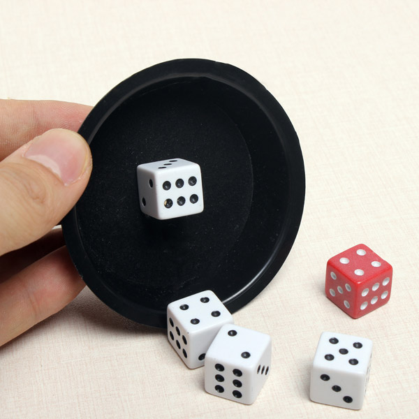 KingMagic Flying Dice Magic Props G0620 от Banggood INT