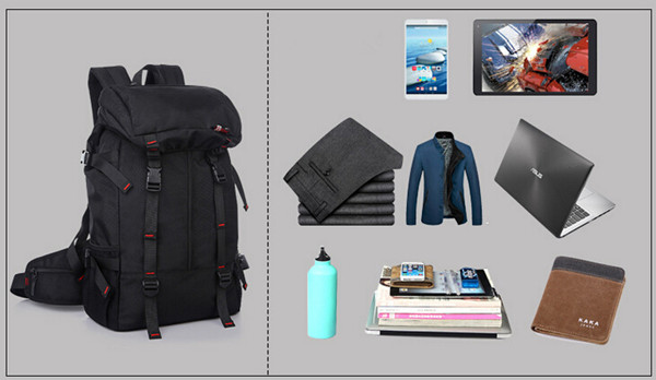 KAKA 50L Man and Woman Waterproof Outdoors Camping Sports Hiking Backpack