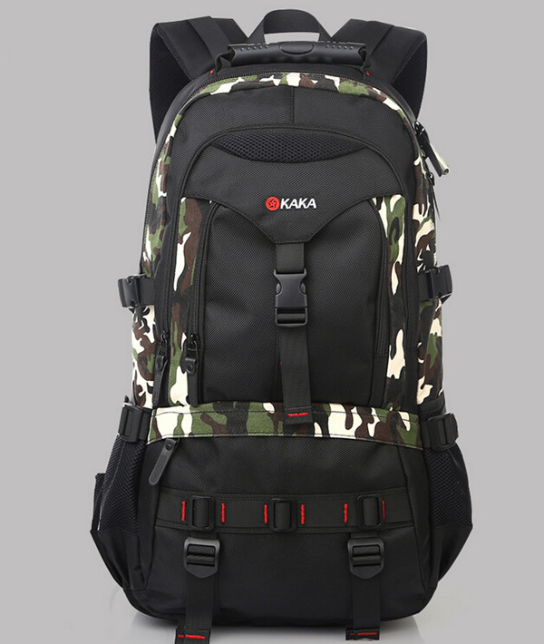 KAKA 35L Large capacity Man Travel Bag Outdoor Mountaineering Backpack