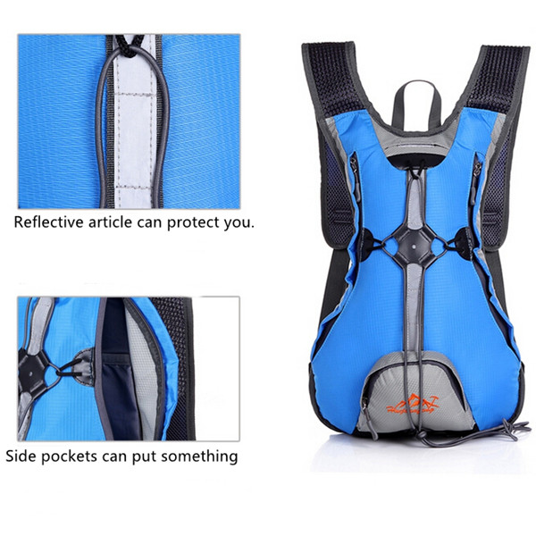 10L Waterproof Backpack Ultralight Outdoor Bicycle Cycling Backpacks Travel Bag