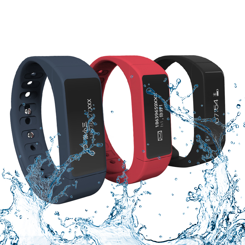 I5 PLUS Waterproof Bluetooth Smart Wristband Bracelet For IOS Android bounabay waterproof smart sports bracelet watch women clocks ladies bluetooth android ios phone woman touch clock lady watches