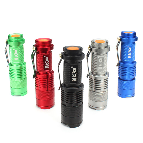 MECO Q5 500LM Zoomable Mini LED Flashlight