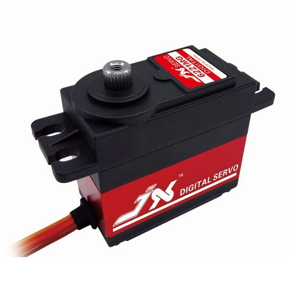 JX PDI-6221MG 20KG Large Torque Digital Standard Servo For RC Model superior hobby jx pdi hv5212mg high precision metal gear full cnc aluminium shell high voltage digital coreless short servo