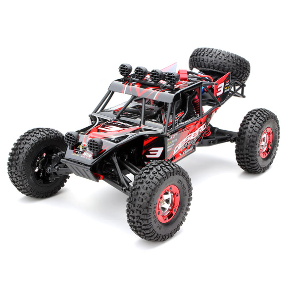 Feiyue FY03 Eagle-3 1/12 2.4G 4WD Desert Off-Road Truck  RC Car rc excavator 15ch 2 4g remote control constructing truck crawler digger model electronic engineering truck toy