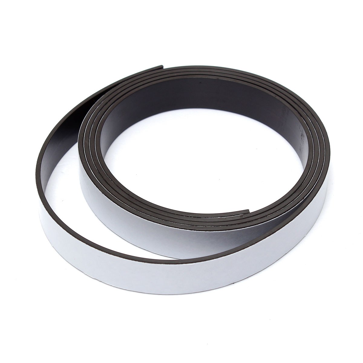 1mx12.5mmx2.2mm Self Adhesive Flexible Magnetic Strip Tape Strong Magnet Tapes