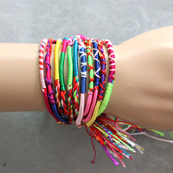 braided string bracelets - photo #19