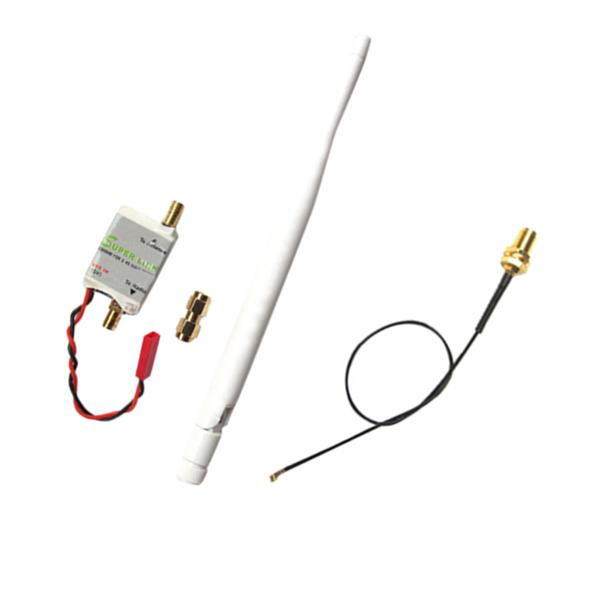 2 4g 2w radio signal booster  u0026 antenna  u0026 feeder for dji